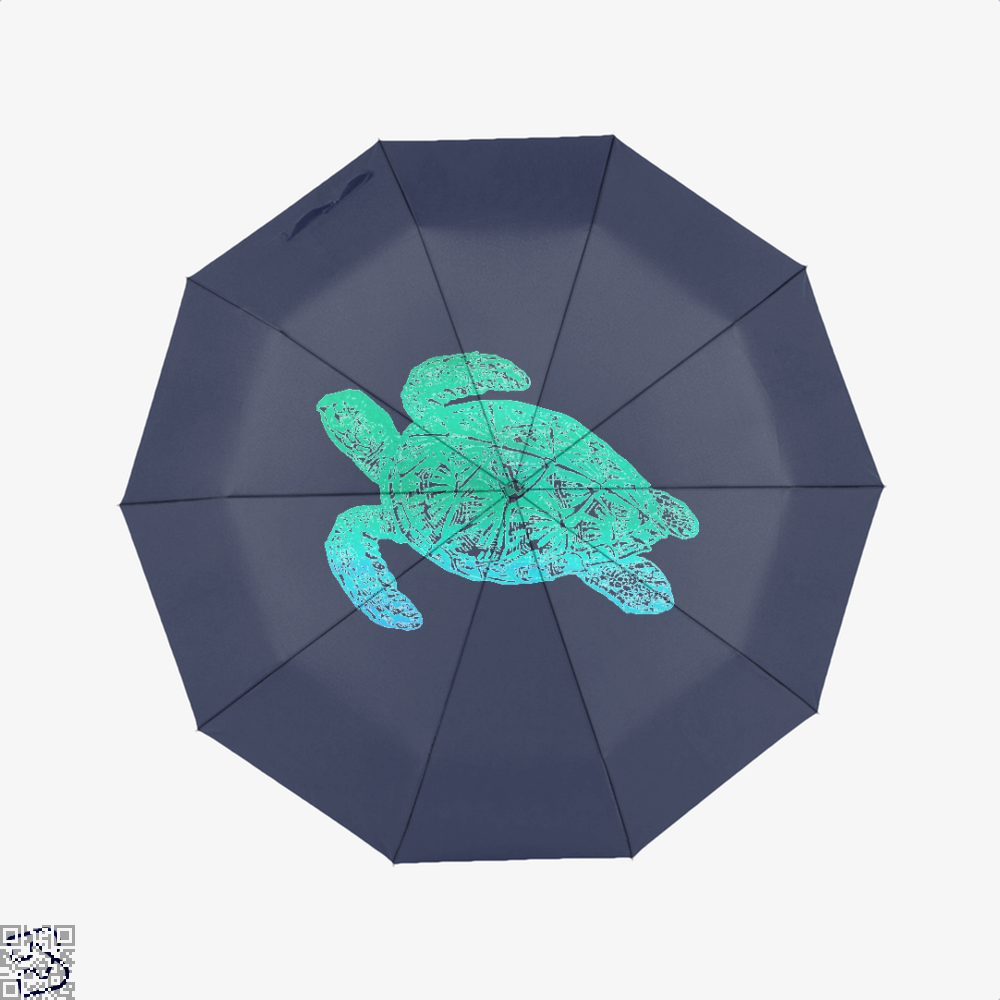 Green Blue Sea Turtle Turtles Umbrella - Productgenjpg
