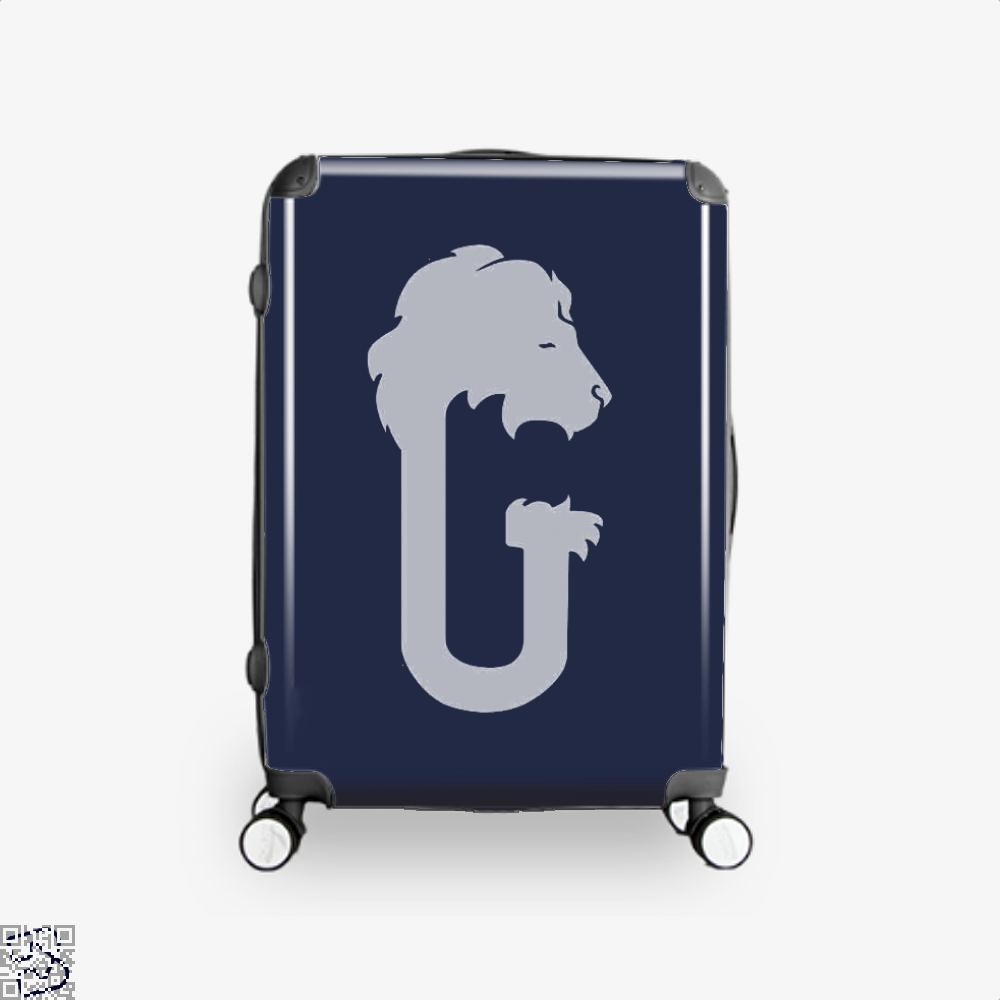 Gryffindor Hogwarts House Crest Harry Potter Suitcase - Blue / 16 - Productgenjpg