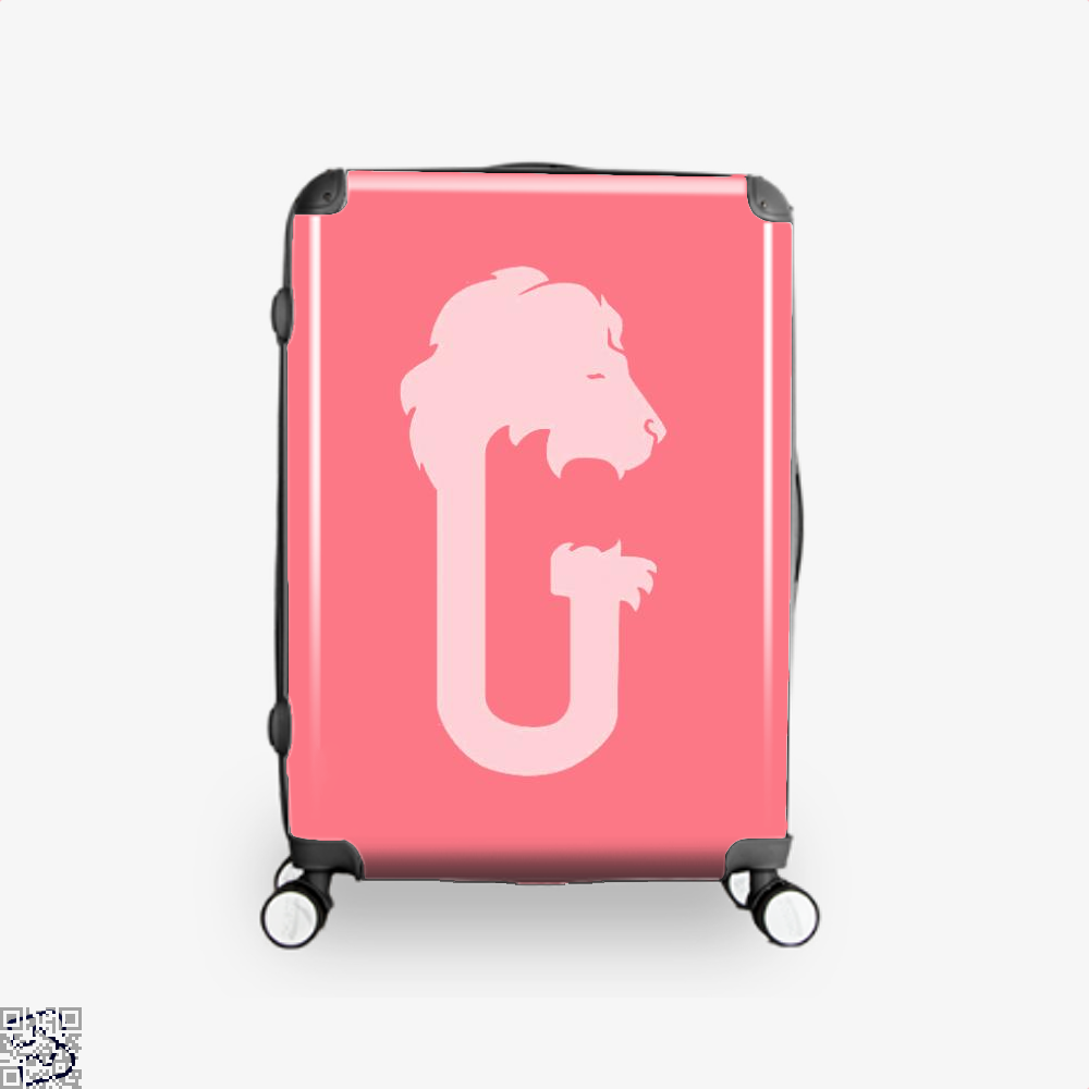 Gryffindor Hogwarts House Crest Harry Potter Suitcase - Pink / 16 - Productgenjpg