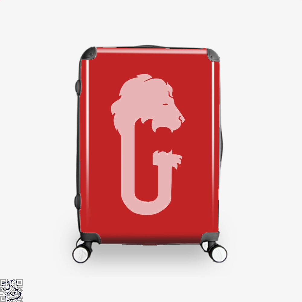 Gryffindor Hogwarts House Crest Harry Potter Suitcase - Red / 16 - Productgenjpg