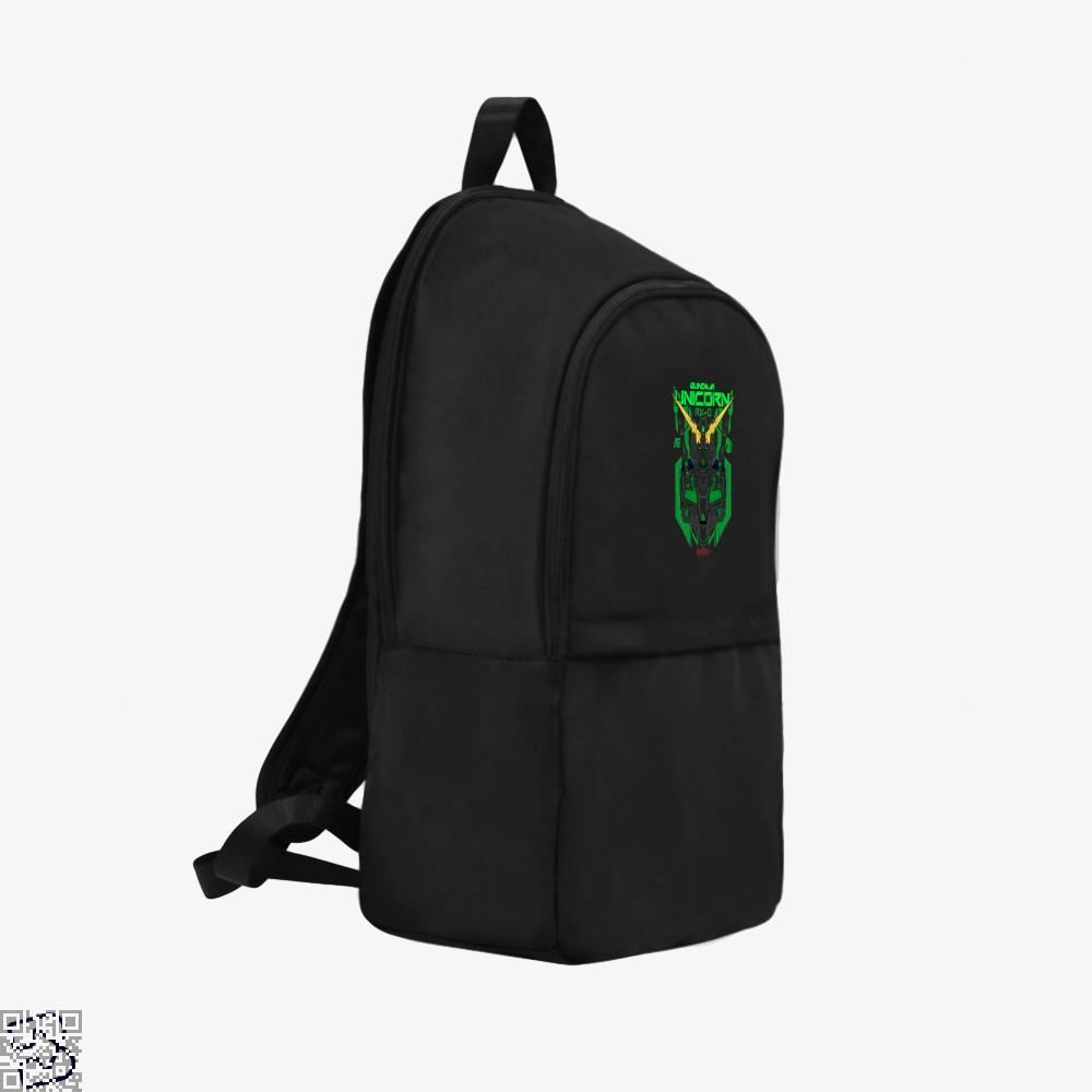 Gundam Unicorn Green Psycho Frame Backpack - Productgenjpg