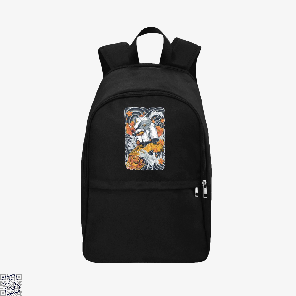 Gundem Illustration Gundam Backpack - Black / Adult - Productgenapi