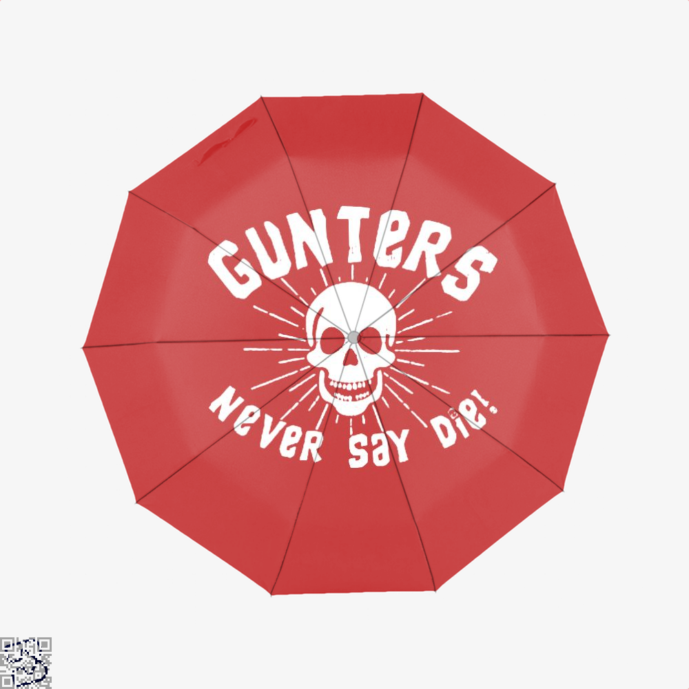 Gunters Never Say Die The Goonies Umbrella - Red - Productgenapi