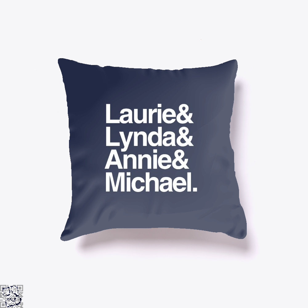 Halloween 1978 Throw Pillow Cover - Blue / 16 X - Productgenjpg