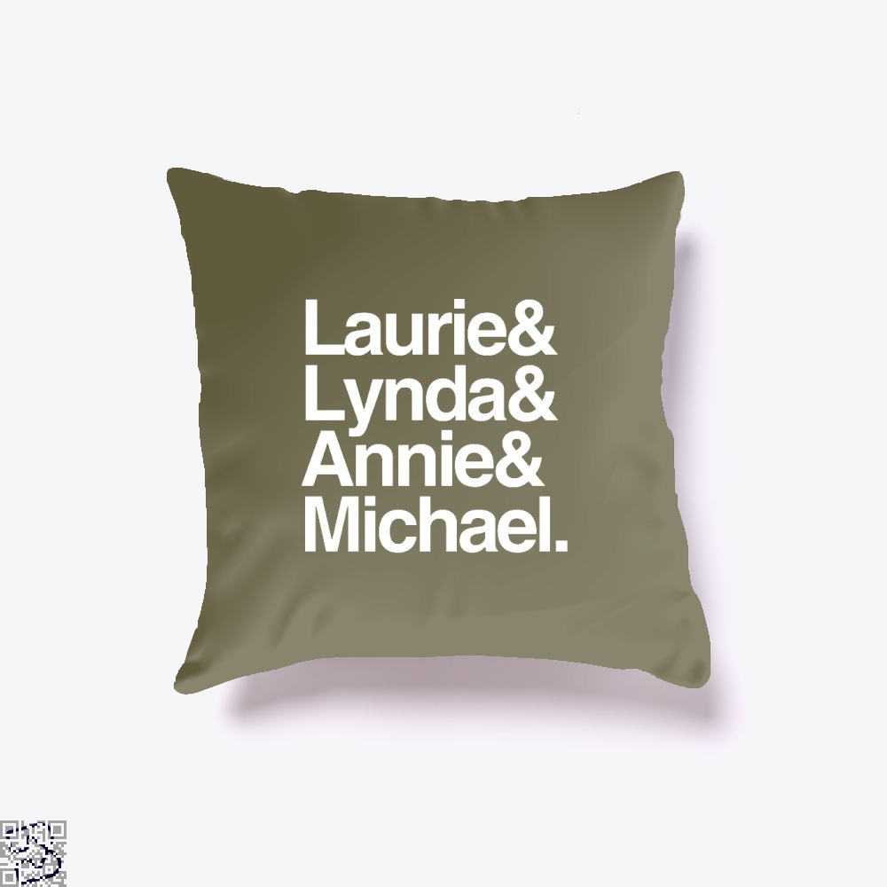 Halloween 1978 Throw Pillow Cover - Brown / 16 X - Productgenjpg
