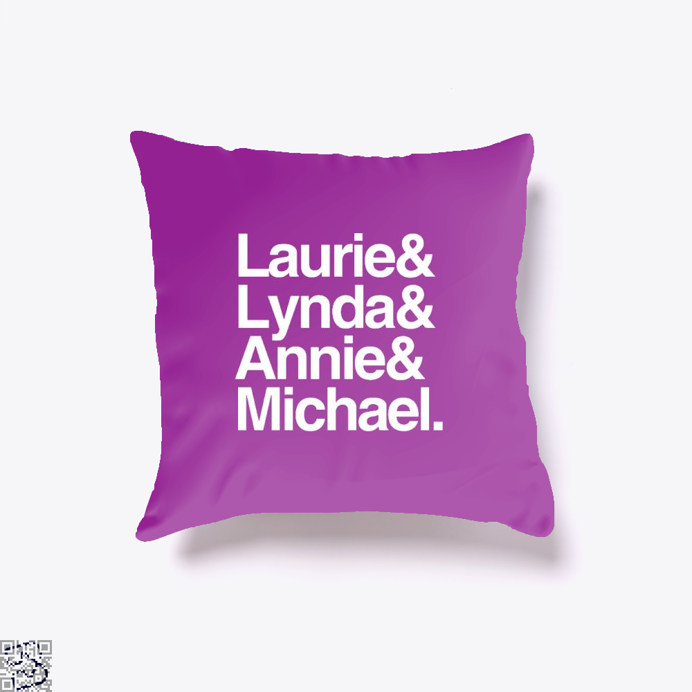 Halloween 1978 Throw Pillow Cover - Purple / 16 X - Productgenjpg