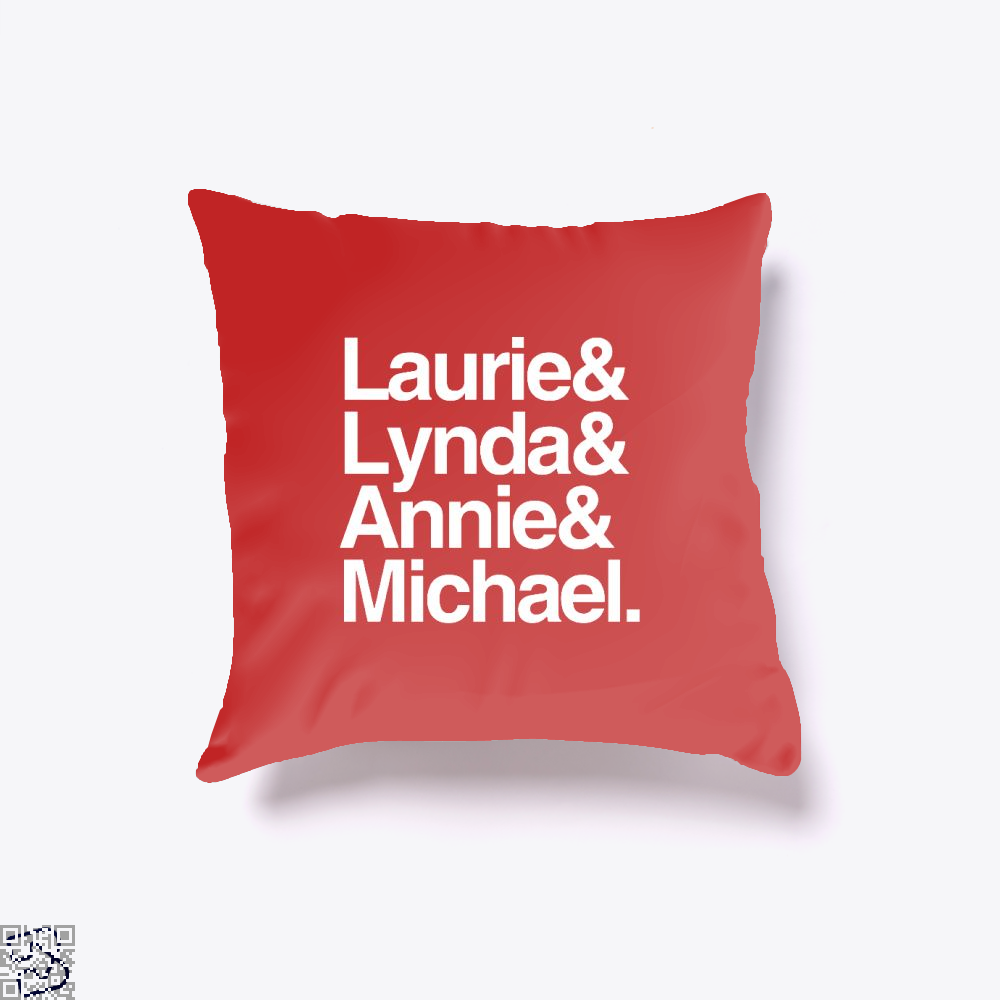 Halloween 1978 Throw Pillow Cover - Red / 16 X - Productgenjpg