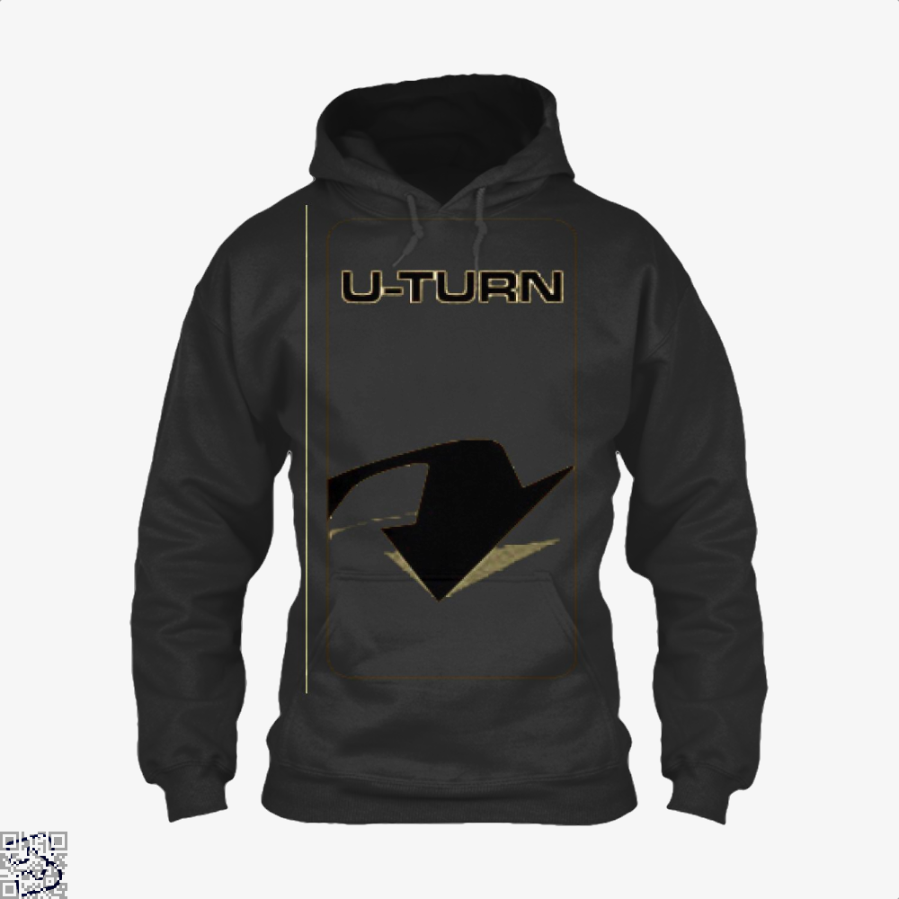 U-turn, The Amazing Race Hoodie