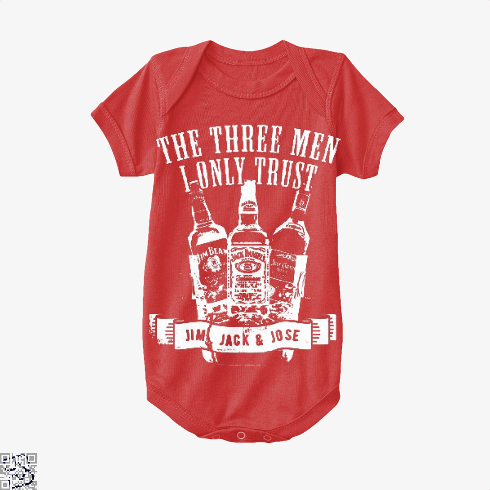 The Three Men I Only Trust, Wine Baby Onesie