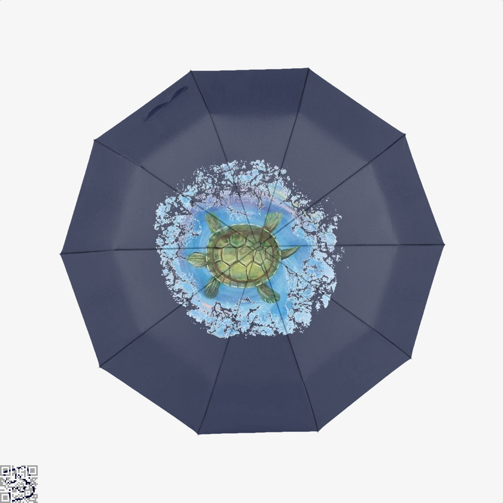 Twisted Turtle , Kamloopsartparty Umbrella