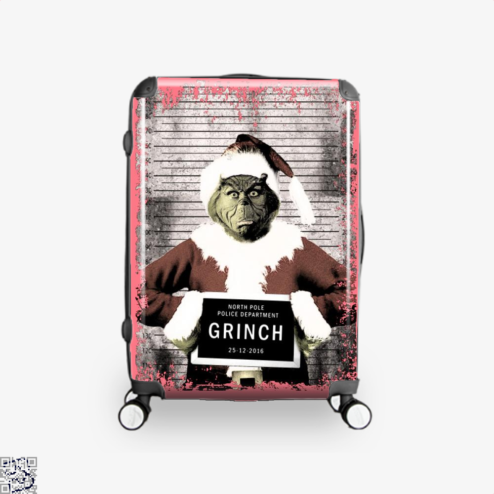 The Grinch Christmas Mugshot, Grinch Suitcase