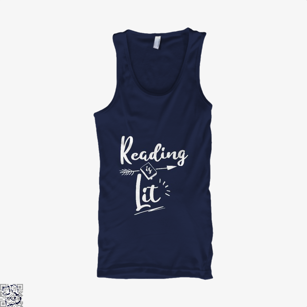 Reading Is Lit Funny, Reading Tank Top