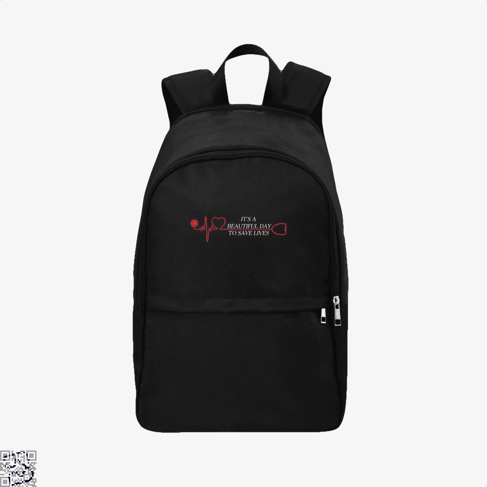 It's A Beautiful Day, Grey's Anatomy Backpack