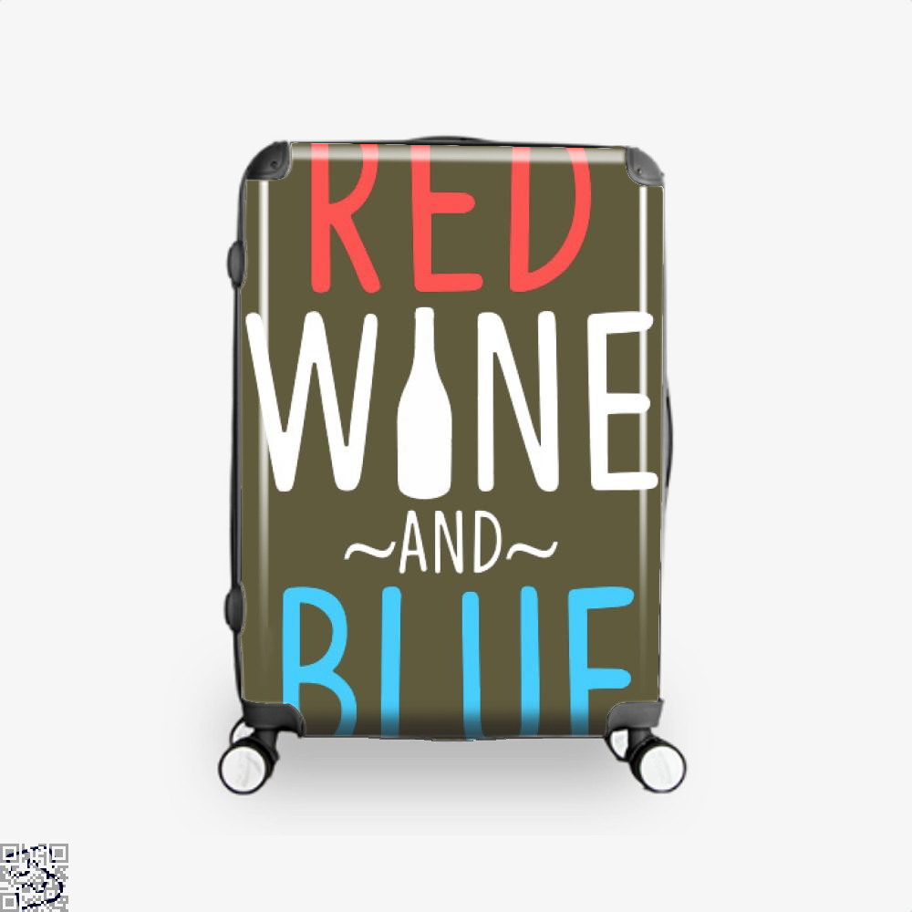 Red Wine And Blue, Wine Suitcase