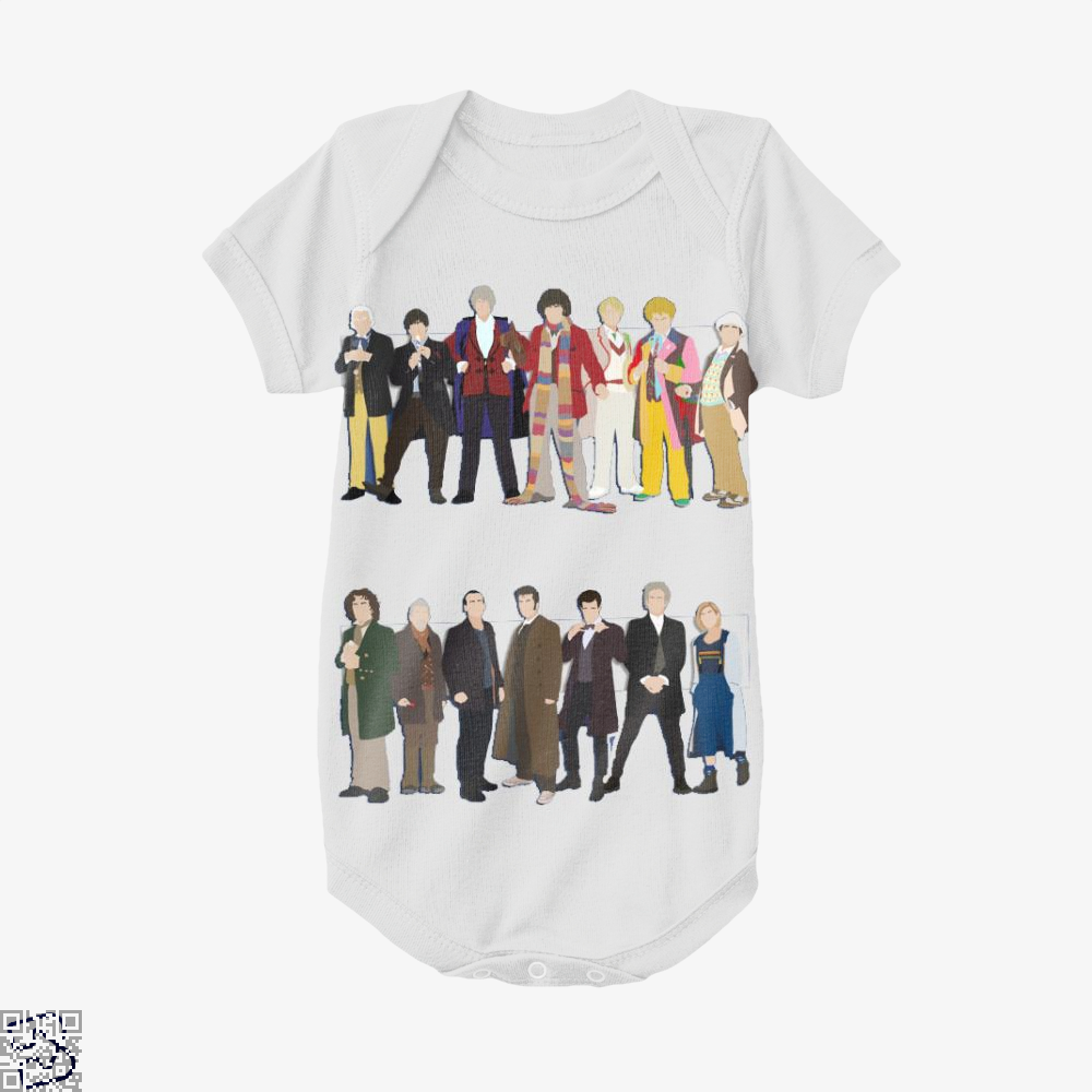 The Classic And Modern Doctors, Doctor Who Baby Onesie