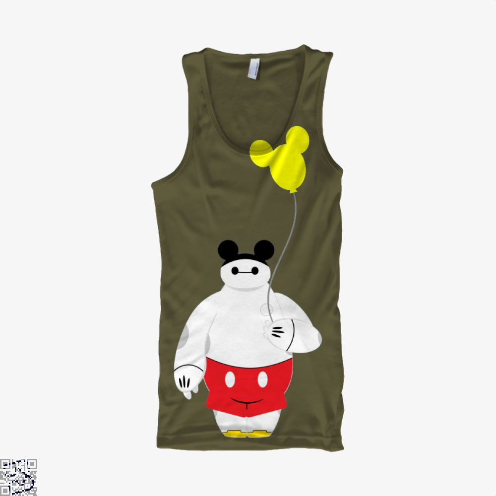 Mousy Max, Big Hero 6 Tank Top