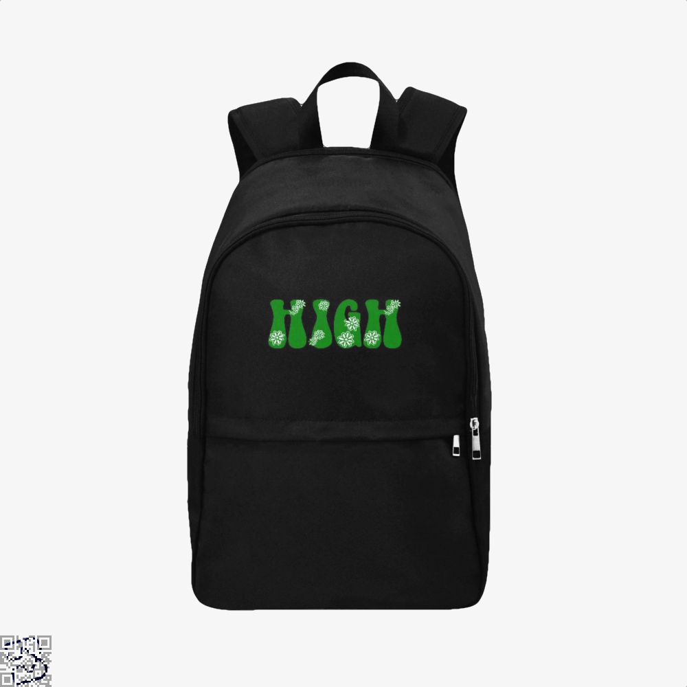 High, Weed Backpack