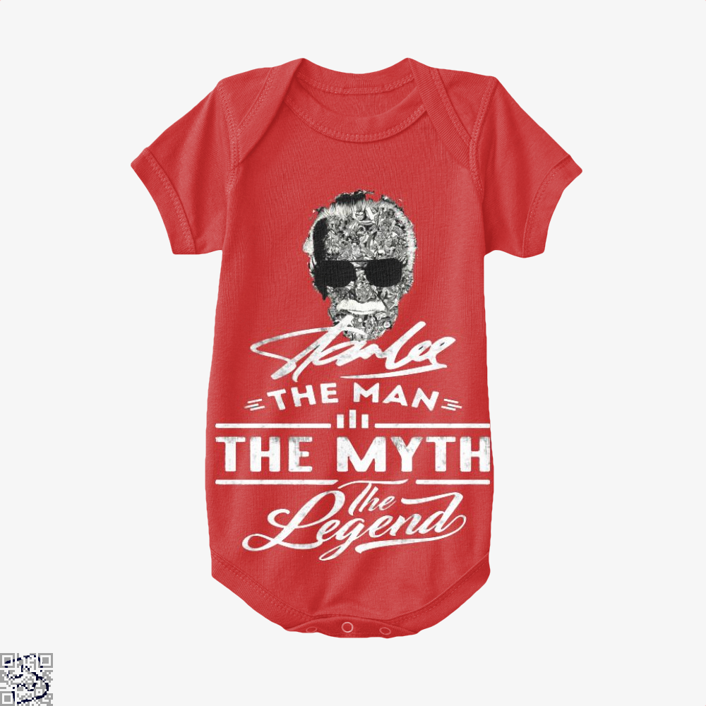 Stan Lee The Man The Myth The Legend, Stan Lee Baby Onesie