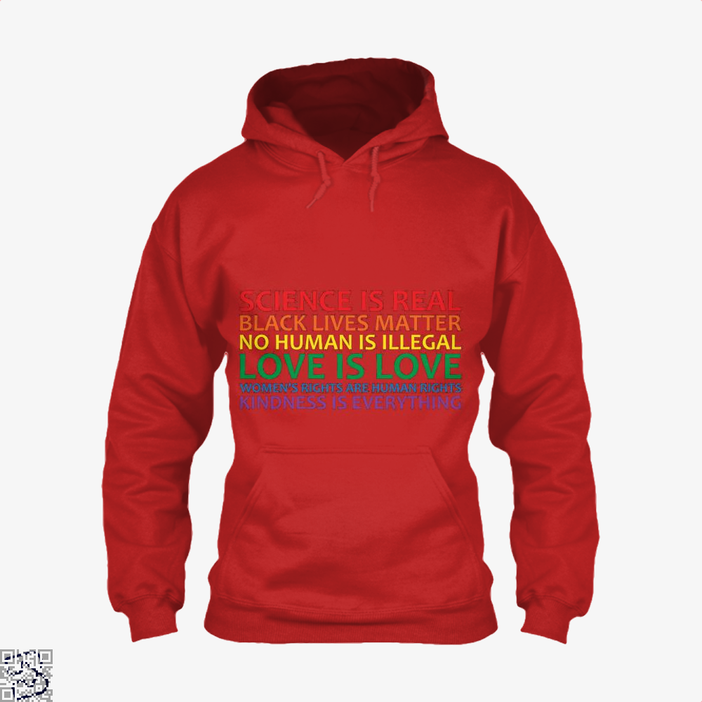 Human Rights World Truths, Feminism Hoodie