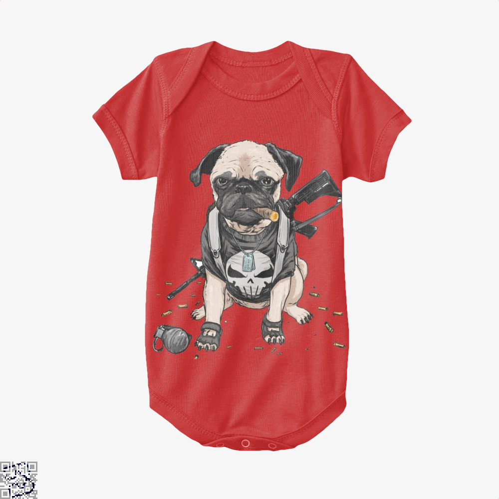 The Pugnisher, Pug Baby Onesie