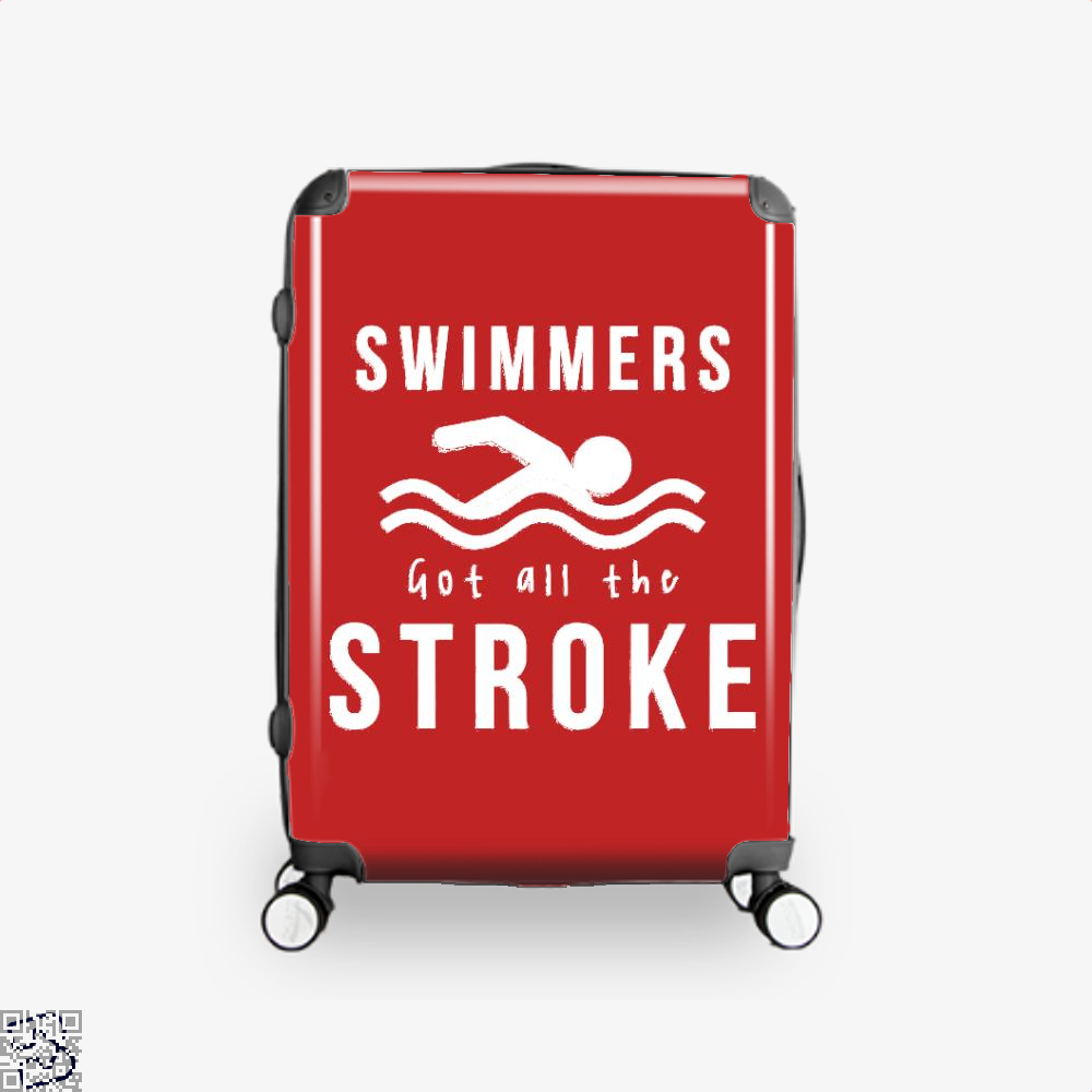 Swimmers Got All The Stroke, Swim Suitcase