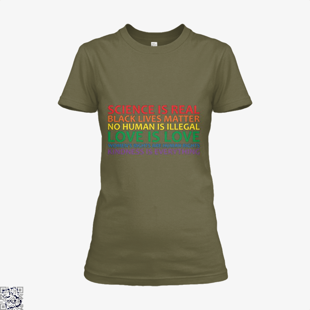 Human Rights World Truths, Feminism Shirt