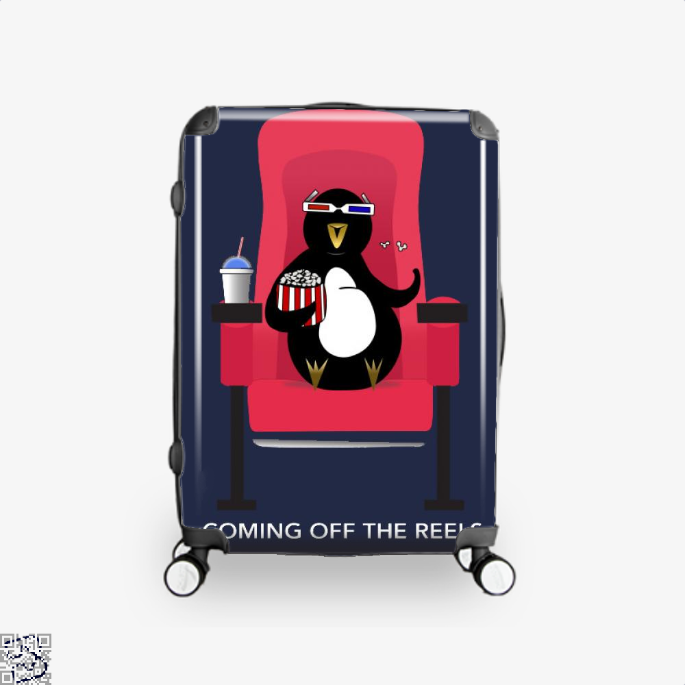 Knickerbocker At The Movies, Penguin Suitcase