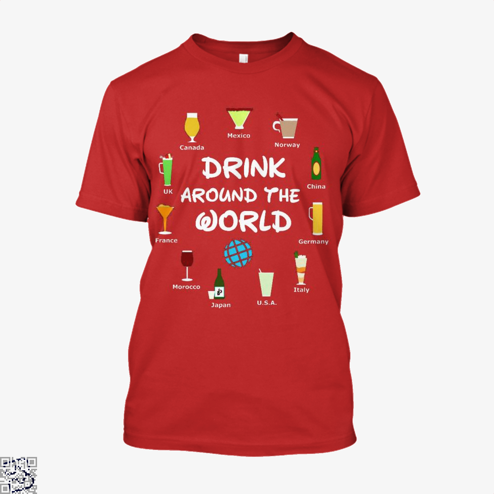 World Showcase Drink Around The World, Wine Shirt