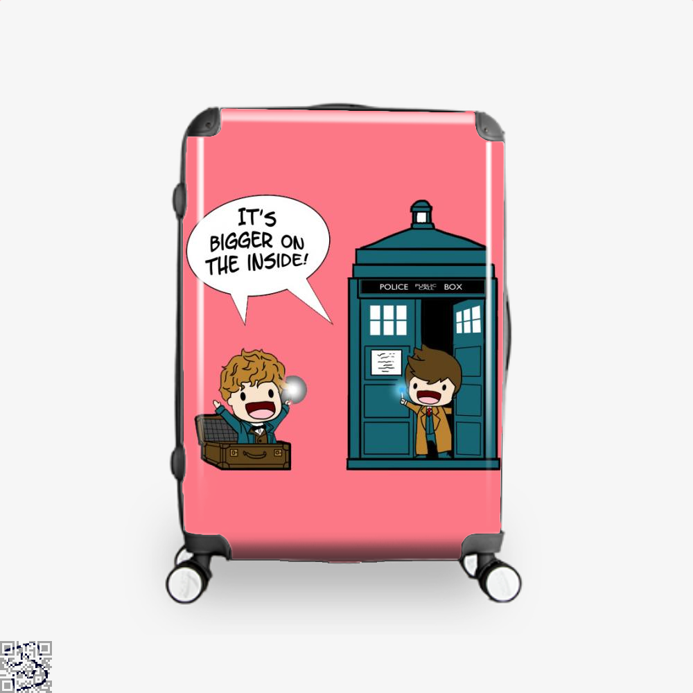 It's Bigger On The Inside, Doctor Who Suitcase