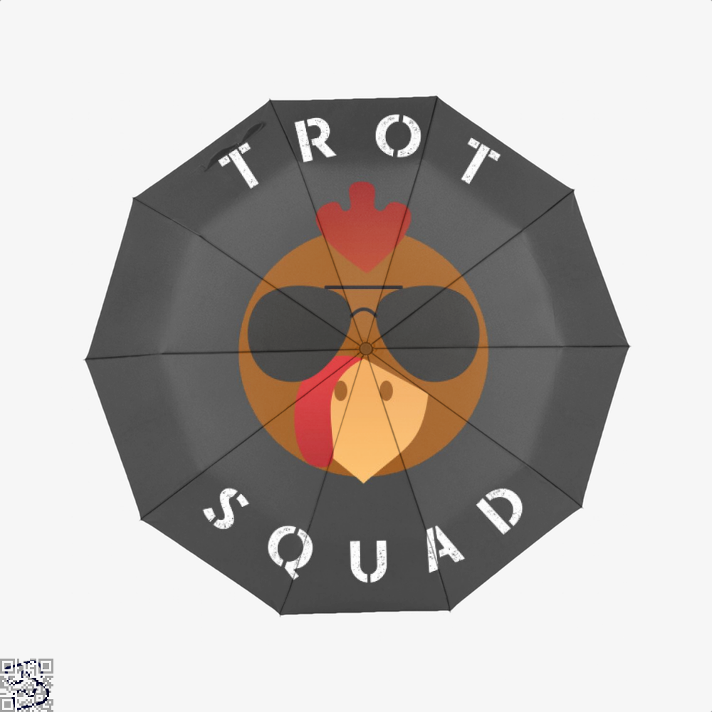 Trot Squad Shirt Turkey Gift, Turkey Umbrella