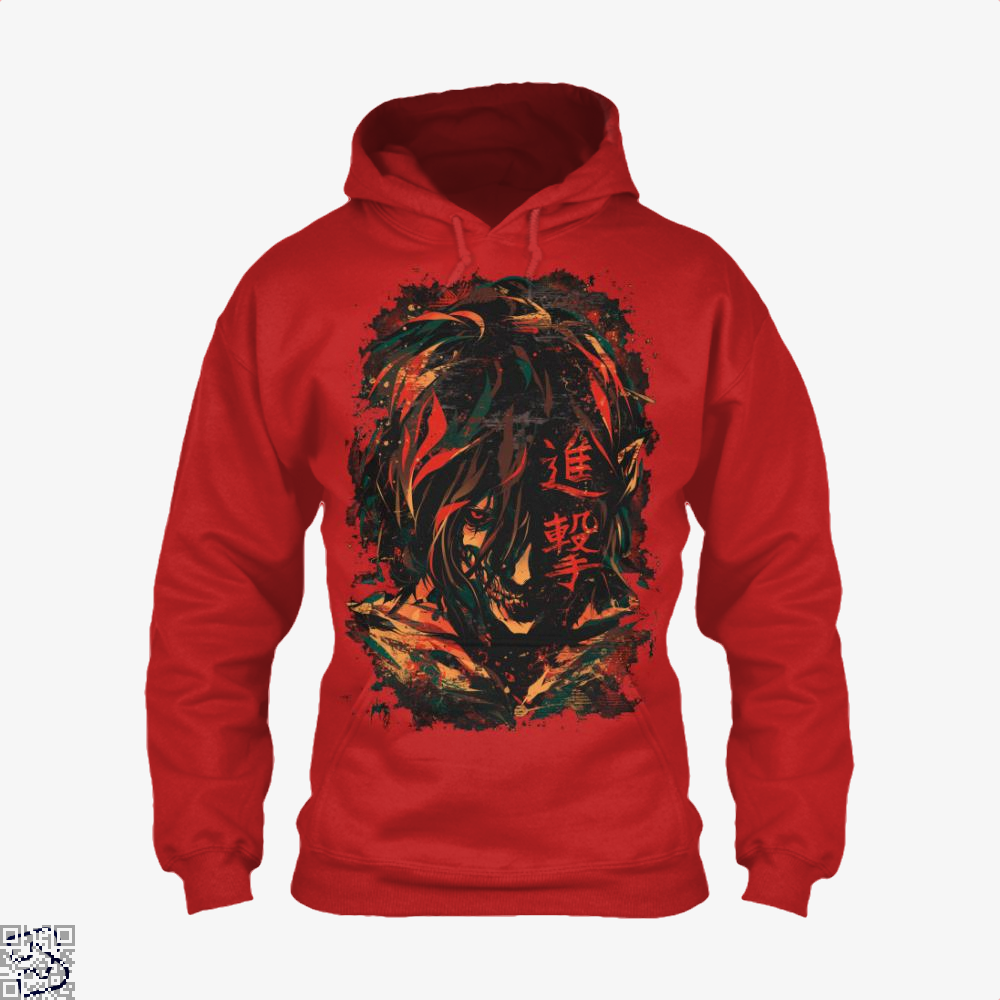 The Manifestation Of Humanitys Rage, Attack On Titan Hoodie