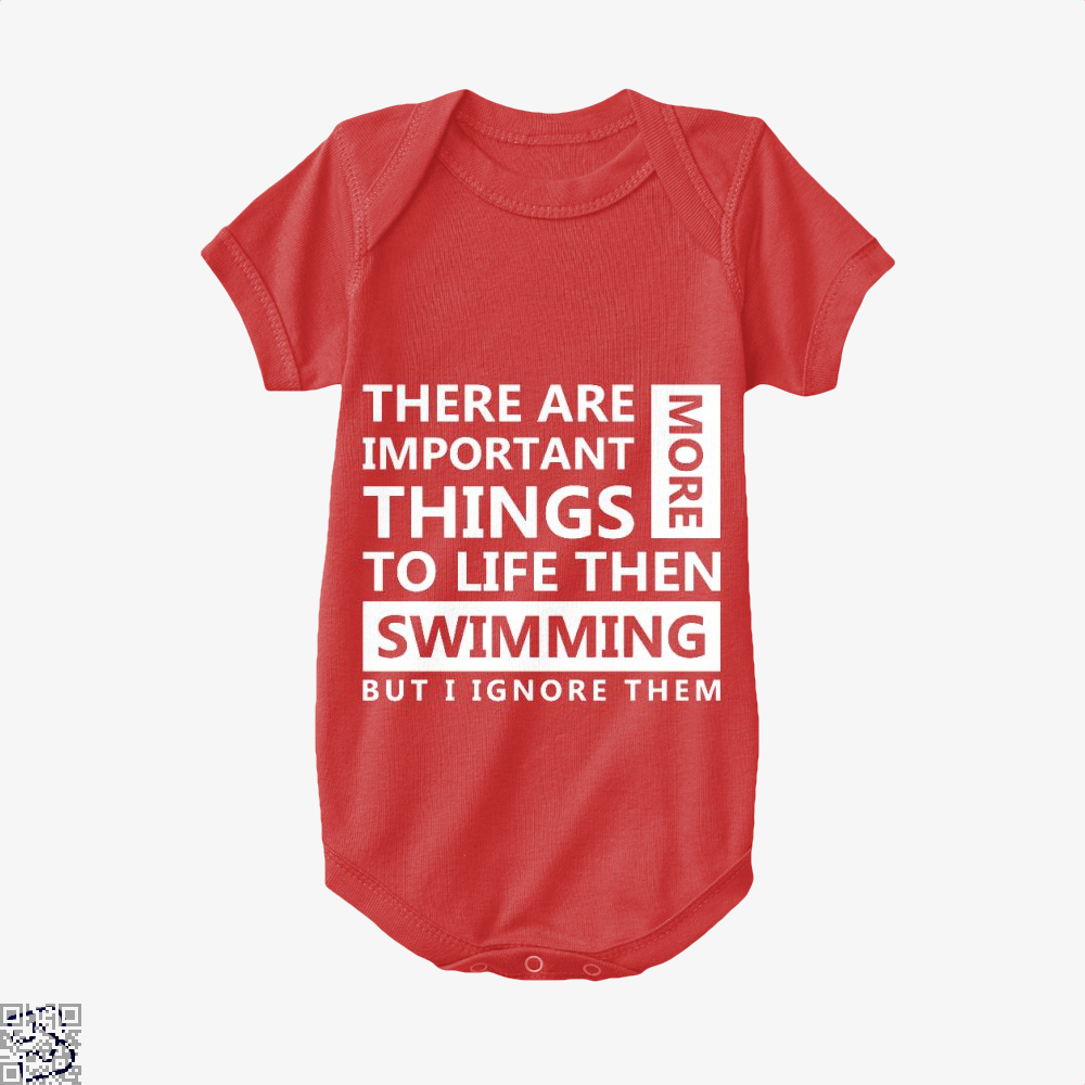 Swimming Love, Swim Baby Onesie