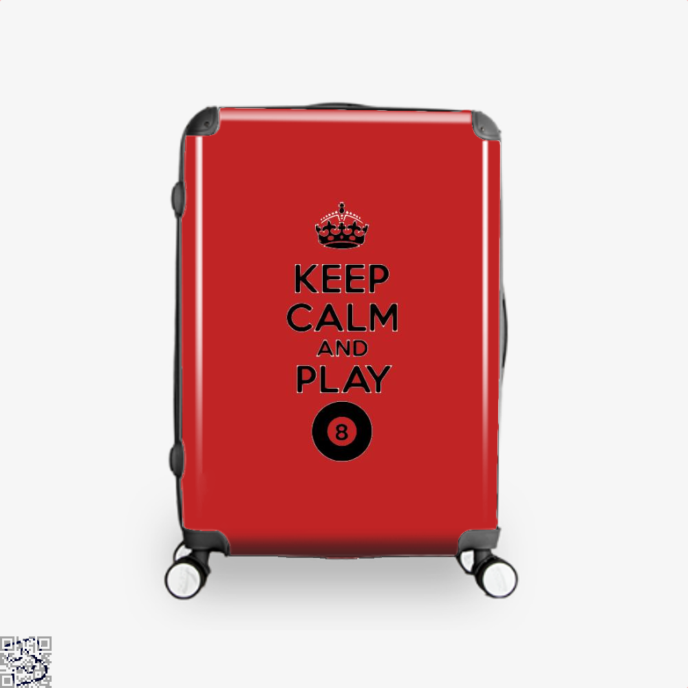 Keep Calm And Play Eight, Snooker Suitcase