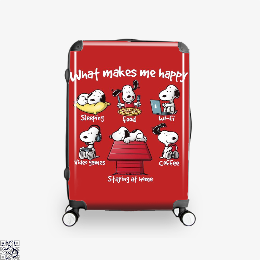 What Makes Me Happy, Snoopy Suitcase