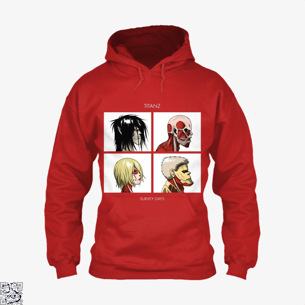 Titan Days, Attack On Titan Hoodie