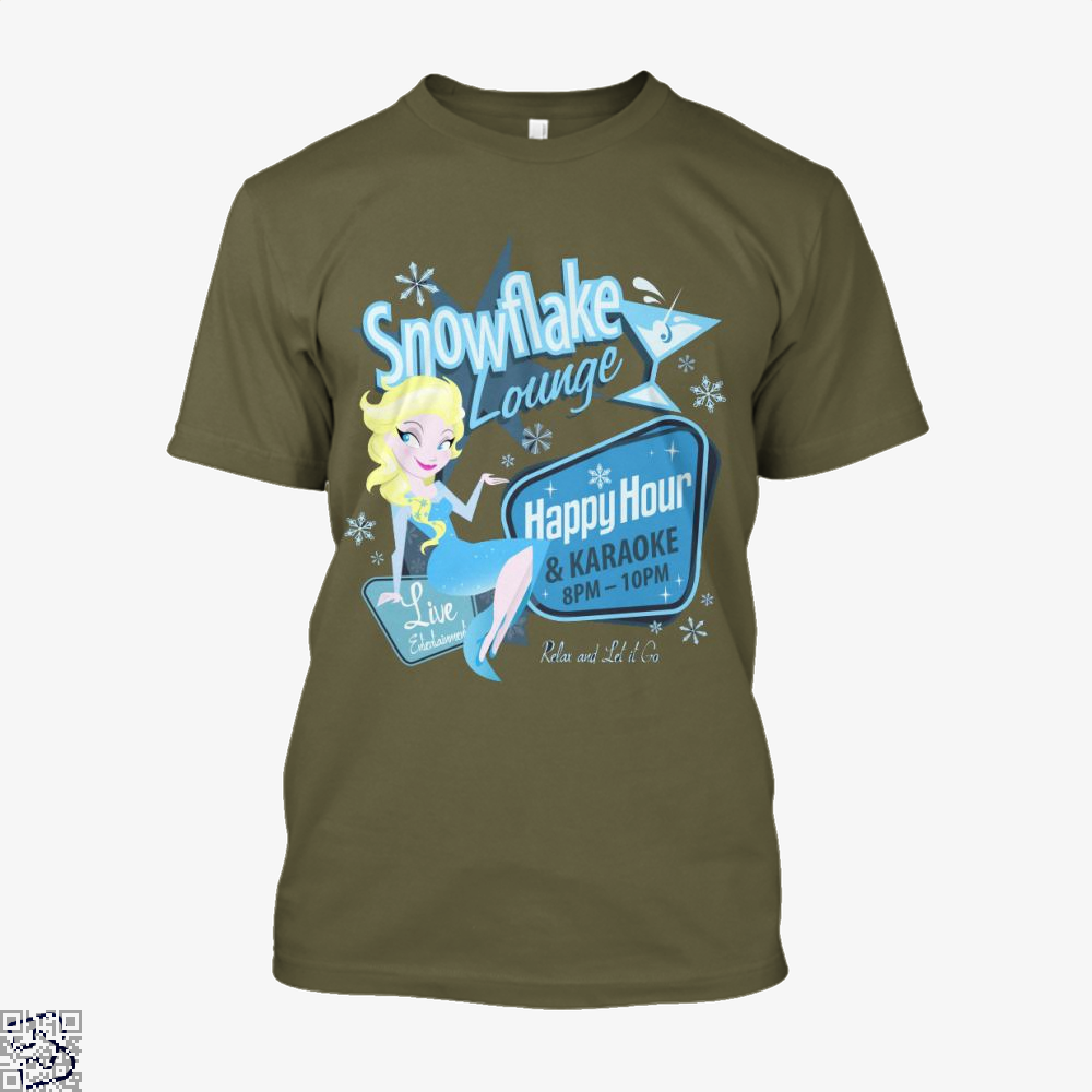 Snowflake Lounge, Frozen Shirt