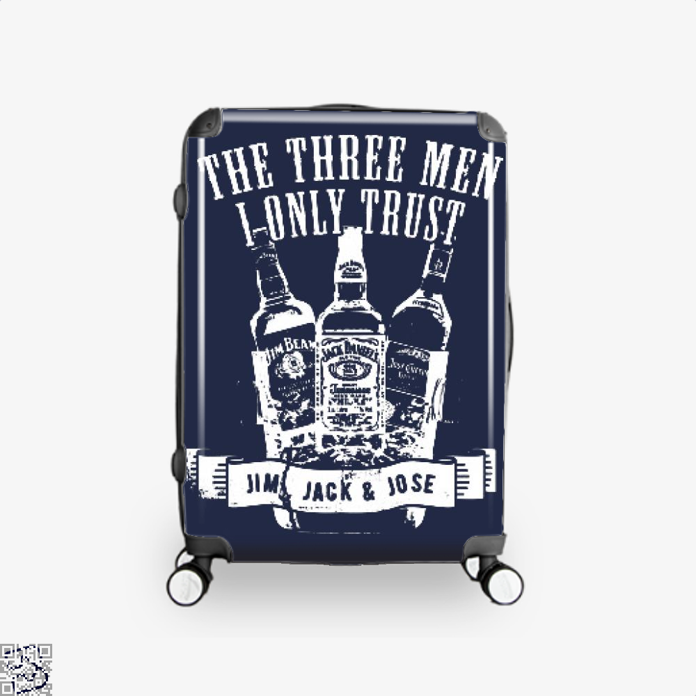 The Three Men I Only Trust, Wine Suitcase