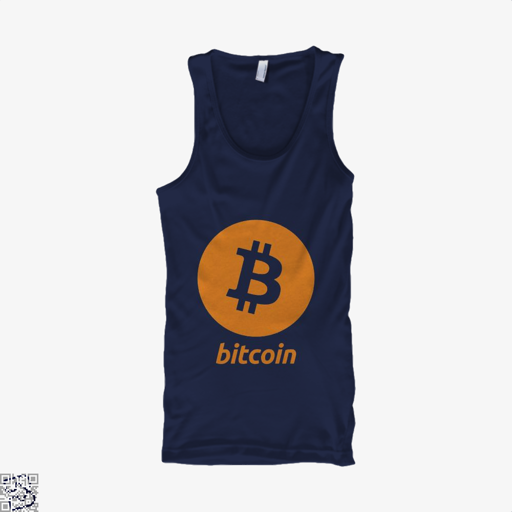 Bitcoin Logo, Cryptocurrency Tank Top