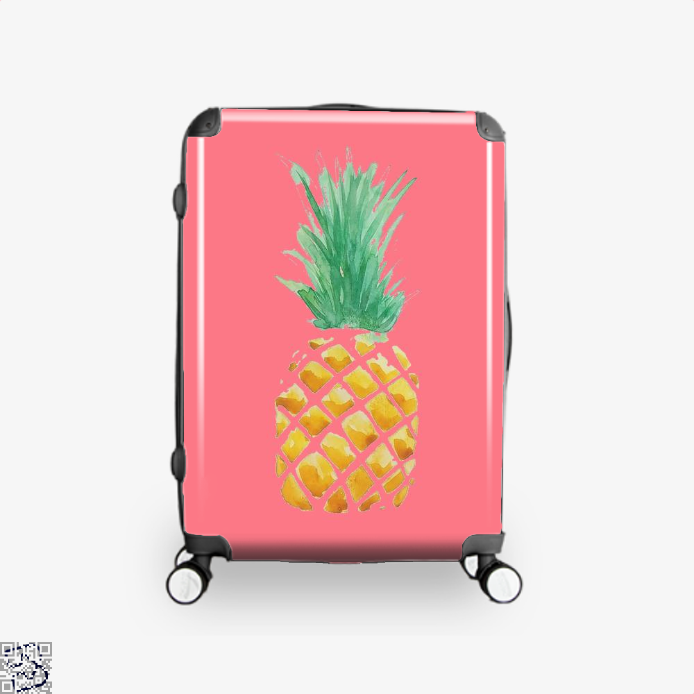 Pineapple , Kamloopsartparty Suitcase