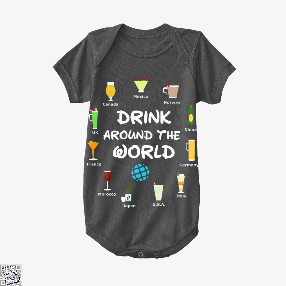 World Showcase Drink Around The World, Wine Baby Onesie