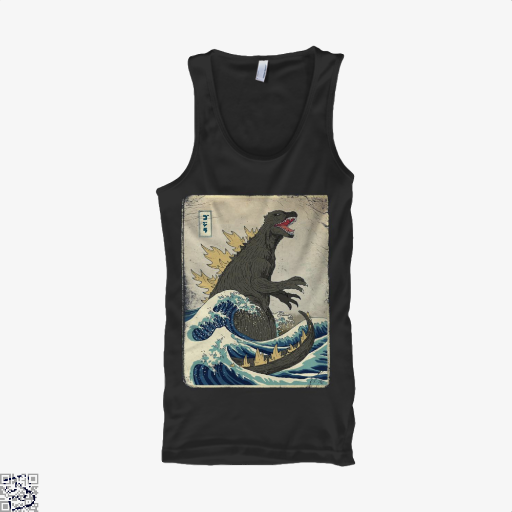The Great Godzilla Off Kanagawa, Godzilla Tank Top