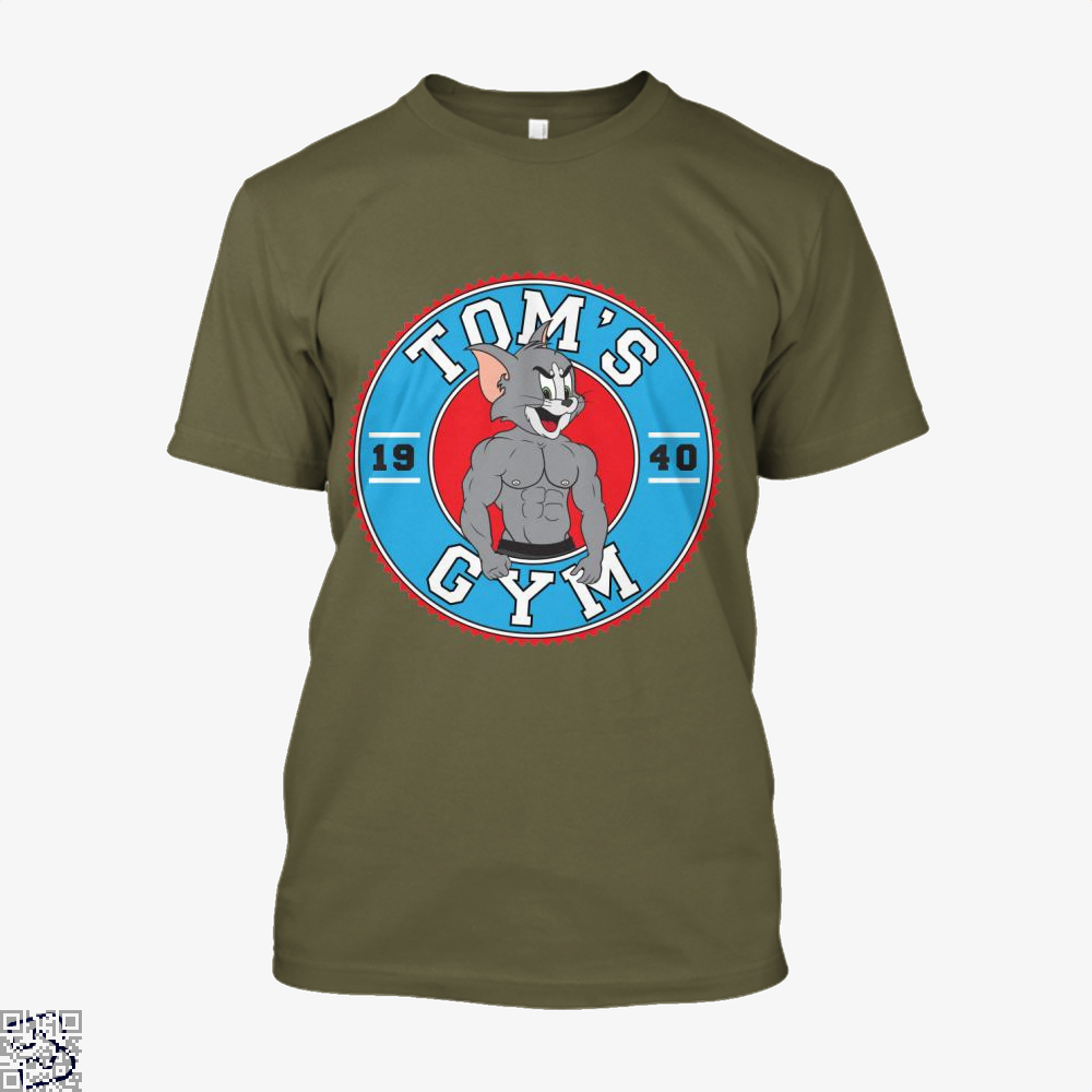 Toms Gym, Tom And Jerry Shirt