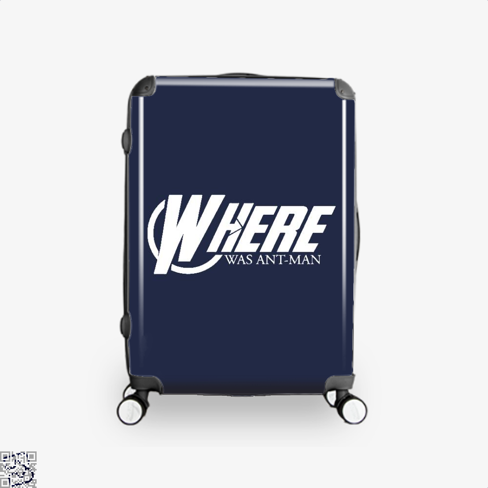 Where Was Ant-man, Ant Man Suitcase