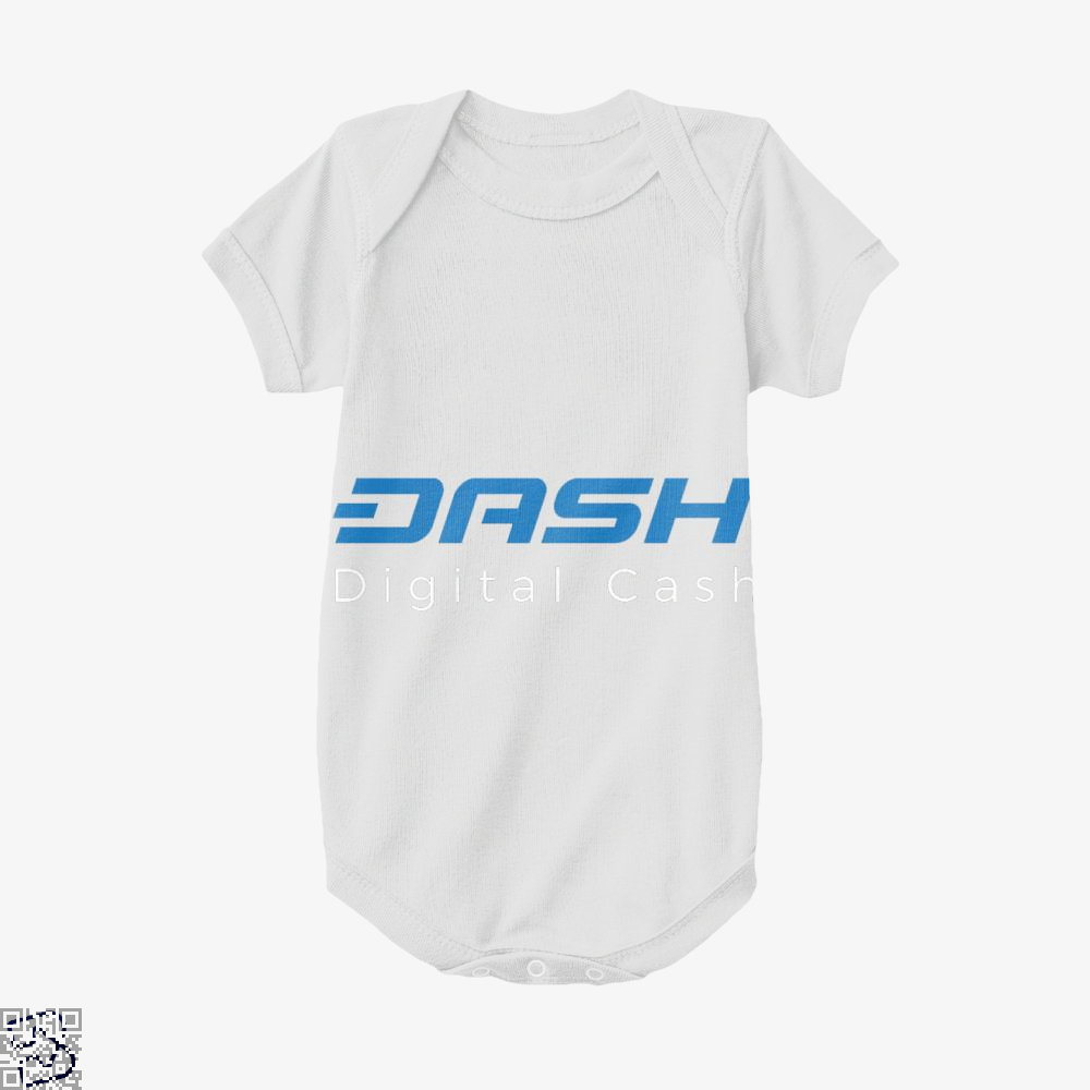 Dash Is Digital Cash, Bitcoin Baby Onesie