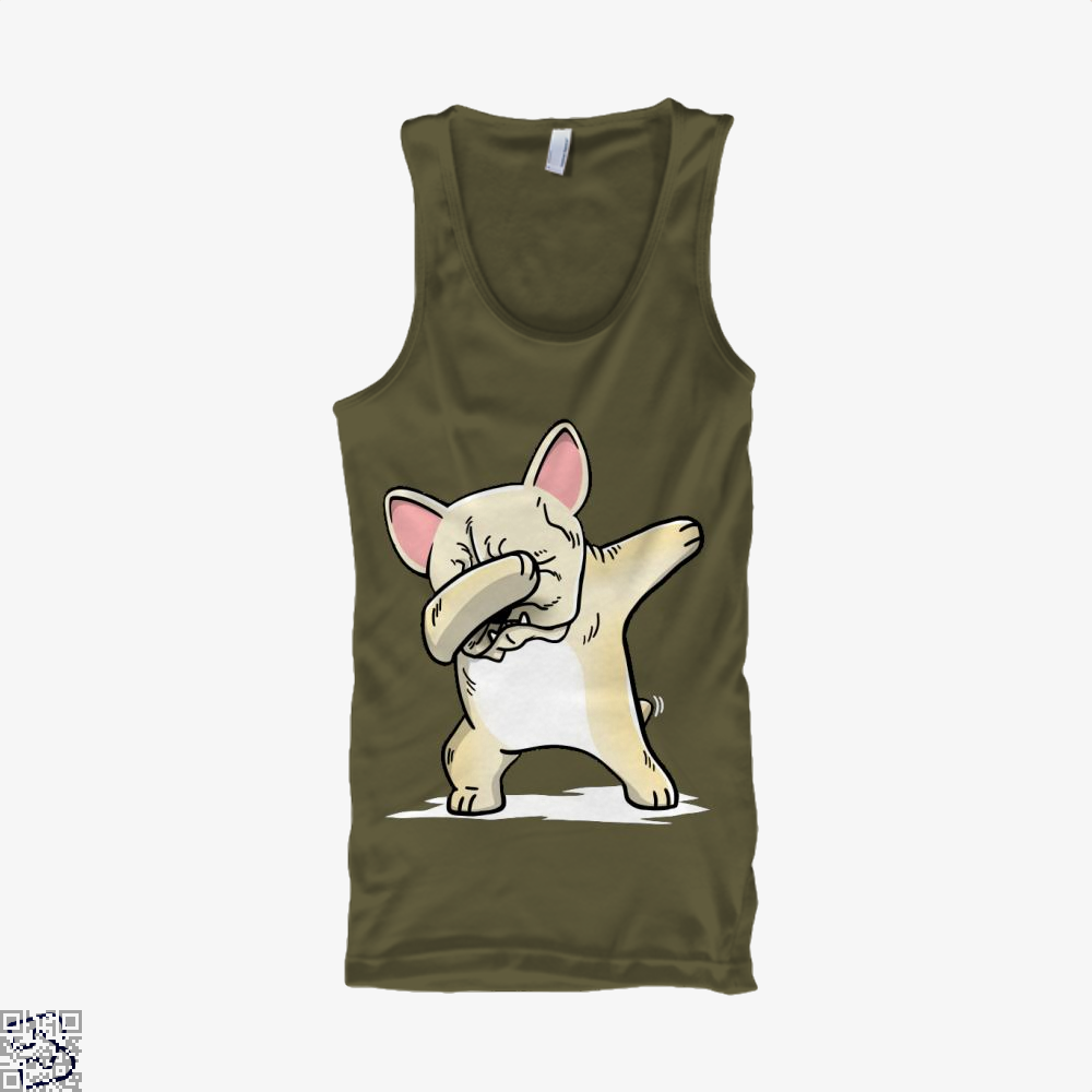 Funny Dabbing Cream French Bulldog Dog, French Bulldog Tank Top