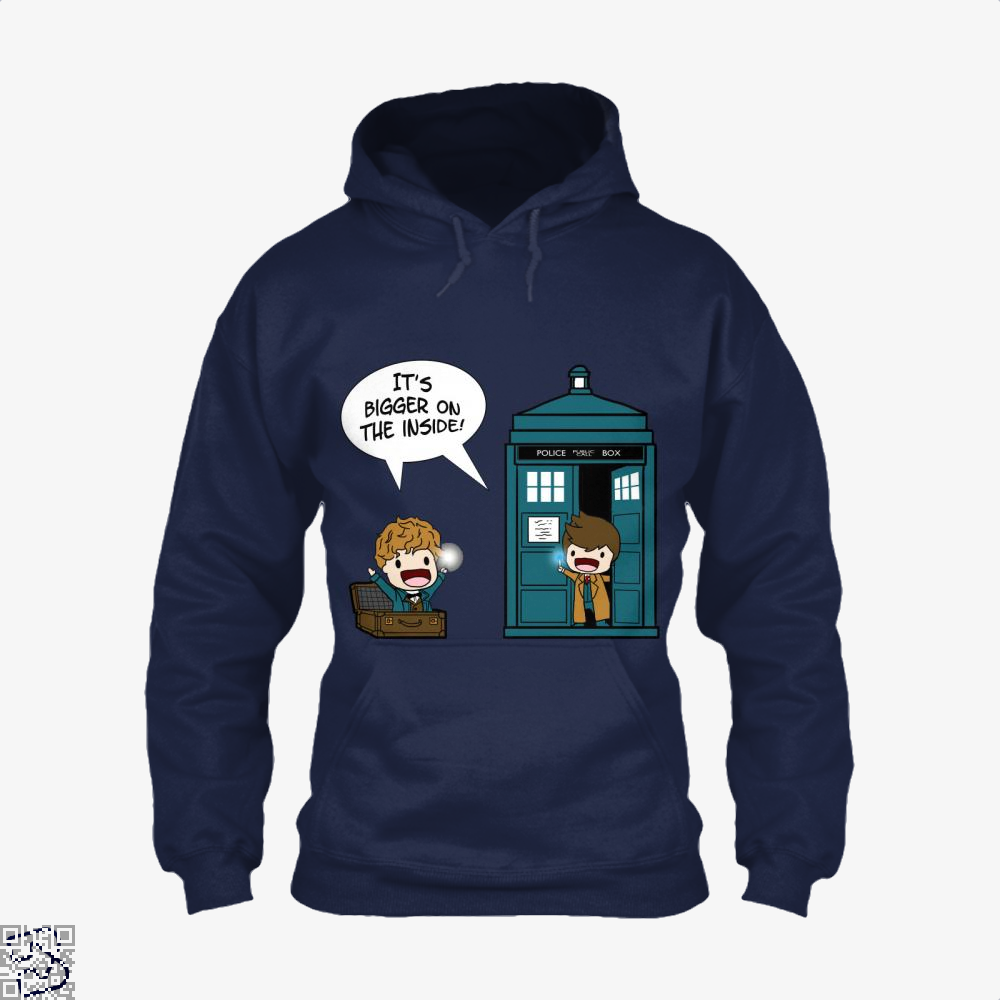 It's Bigger On The Inside, Doctor Who Hoodie