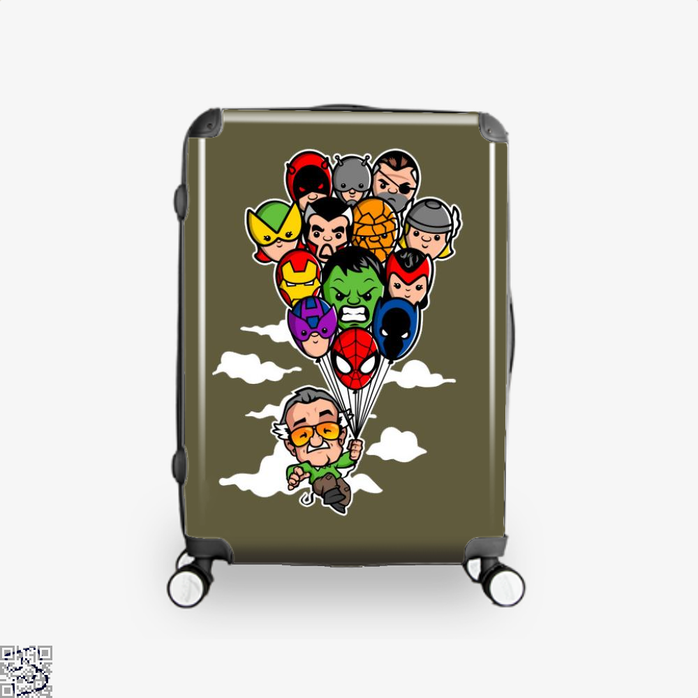 Balloon Stan Ii, Stan Lee Suitcase