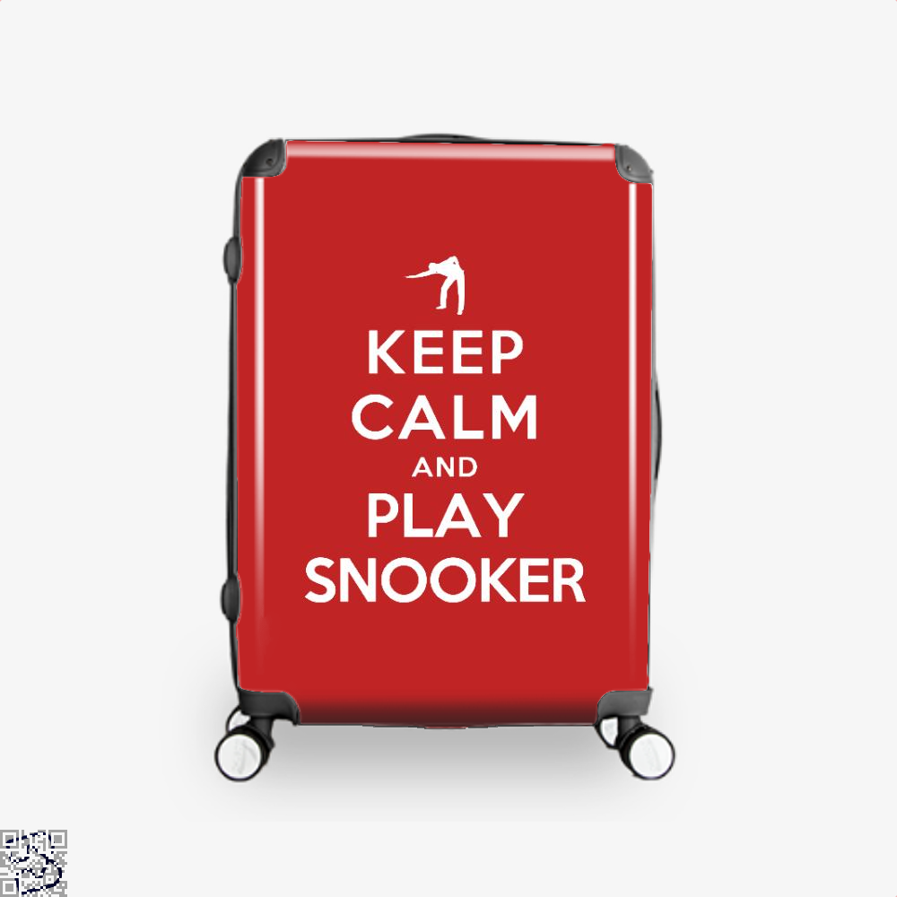 Keep Calm And Play Snooker, Snooker Suitcase