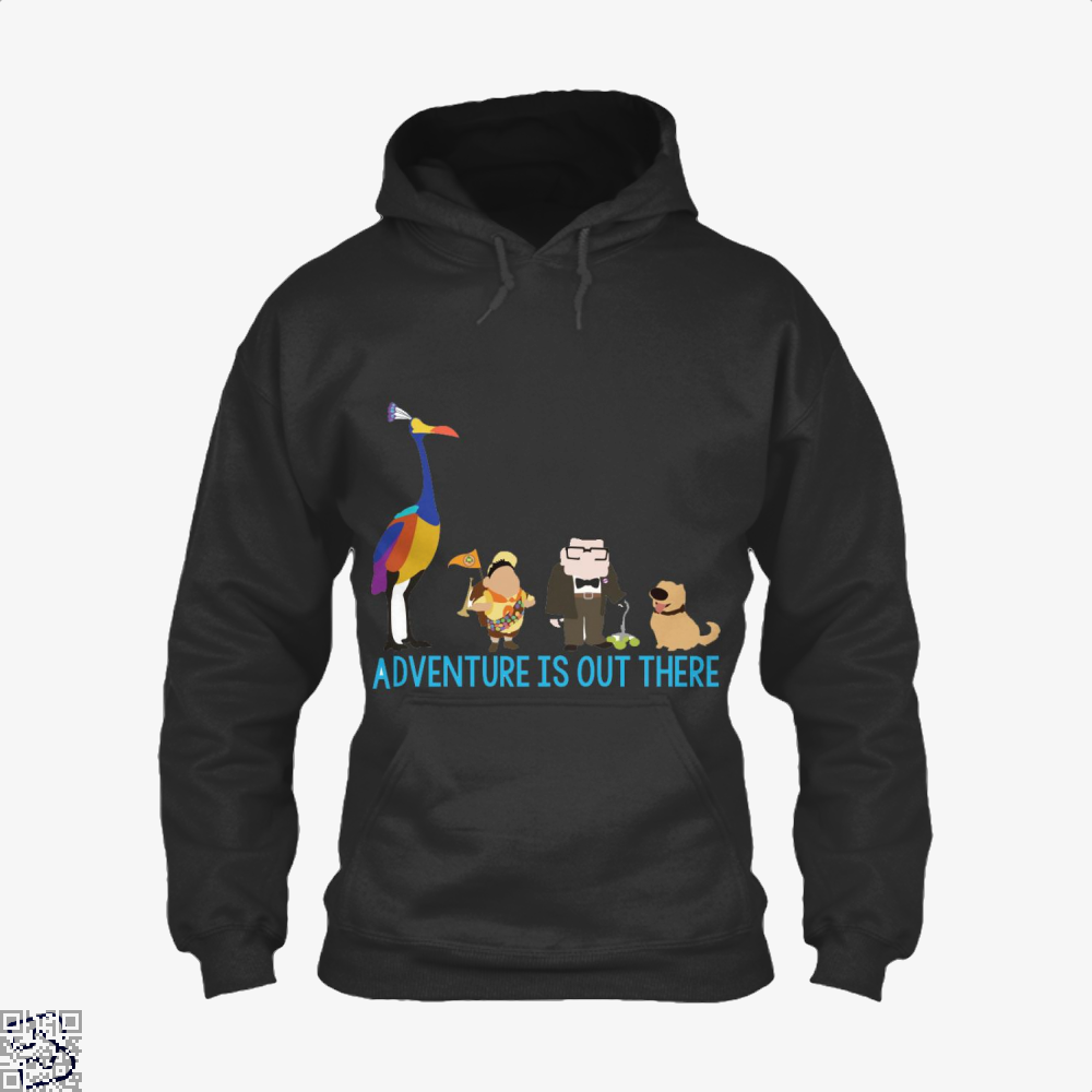 Adventure Is Out There, Up Hoodie