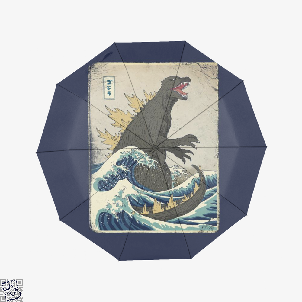 The Great Godzilla Off Kanagawa, Godzilla Umbrella